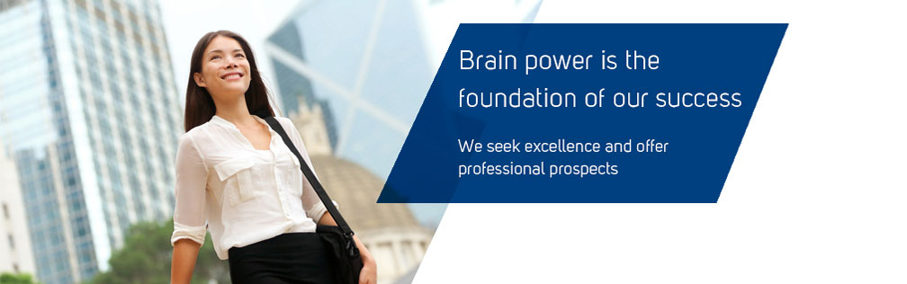 Brainpower is the foundation of our success