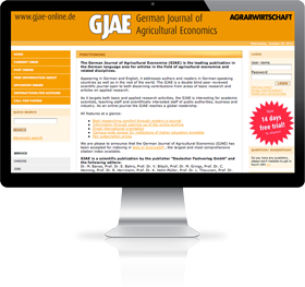 GJAE - German Journal of Agricultural Economics